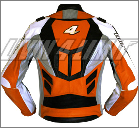 blouson moto vachette veste motard en cuir orange neuf ebay. Black Bedroom Furniture Sets. Home Design Ideas